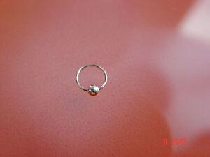 Nasenring-m-Kugel-Piercingring-925er-Silber-NEU