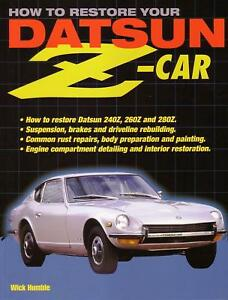 WORKSHOP RESTORE REPAIR MANUAL DATSUN 240Z 260Z 280Z