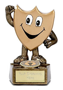 GOLD-SHIELD-MAN-TROPHY-AWARD-3-75-FREE-ENGRAVING