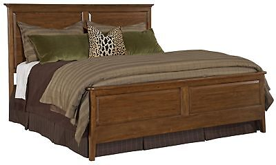 Kincaid Cherry Park King Panel Bed Solid Wood