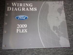2009 ford flex electrical wiring service shop manual | ebay 2009 ford flex wiring diagrams 2009 ford flex fuse box