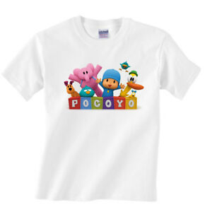 New pocoyo custom t shirt personalized free add a name for Custom t shirts add photo