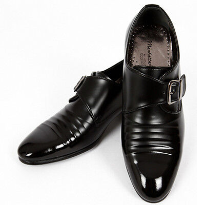 Mens Shoes Classic Casual Dress Loafers Black US 8.5