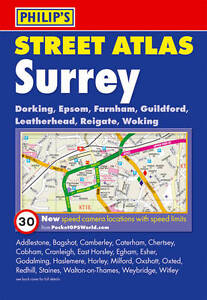 Philip's Street Atlas Surrey by Octopus Publishing Group (Paperback, 2010)