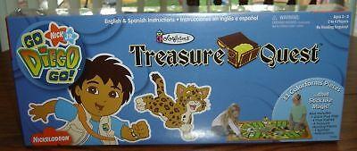 Treasure Quest Go Diego Go Game - Brand