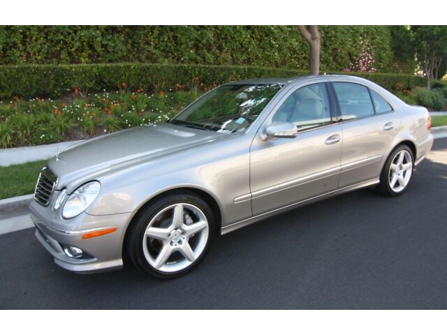 2009 Mercedes-Benz E350 AMG Sport Package One owner