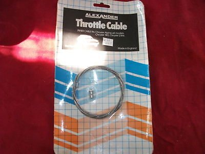 THROTTLE CABLE INNER CABLE CHRYSLER ALPINE ALL MODELS
