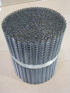 Stainless Steel Wire Mesh Conveyor Belt Belting 304 SS 9