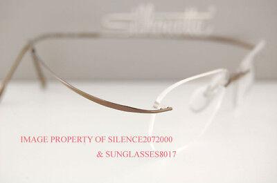 Silhouette Eyeglasses Frame Must 7799 6102 Pinecone