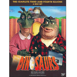 Dinosaurs: Seasons 3 and 4  + (DVD) BRAND NEW IN SHRINKWRAP!