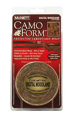 Marpat Digital Woodland Mcnett Camo Form Tape Gun Self-cling Wrap Hunting