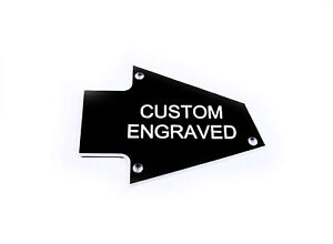 Custom engraved Truss Rod Cover fits Ibanez Made in Japan