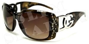 DG BLACK DIAMANTE DESIGNER LADIES L SUNGLASSES D.G-687