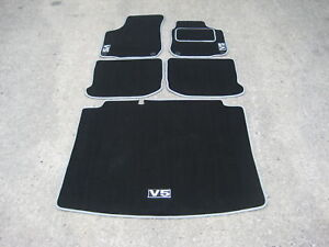 Car Mats to fit VW Golf Mk4 + Boot Mat + V5 Logos