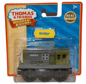 NEW-IN-BOX-DODGE-Thomas-Tank-Engine-Wooden-Railway-splatter