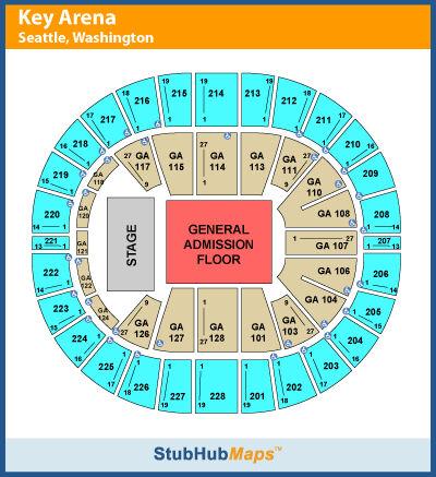 RADIOHEAD-GA-FLOOR-TICKETS-KEY-ARENA-SEATTLE-WA-04-09-12