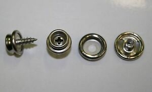 Press-Studs-Screw-Bases-Stainless-Steel-25-pack