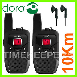 10Km-DORO-WT91X-Waterproof-Walkie-Talkie-Two-Way-Radio