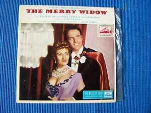 RECORD-45-RPM-SADLERS-WELLS-THEATRE-THE-MERRY-WIDOW