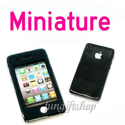 Dollhouse Miniature Iphone Look Mobile Phone Decoration Bjd Doll