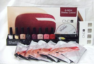 Cnd Creative Nail Gel Polish Shellac Salon Rack Kit B Sale