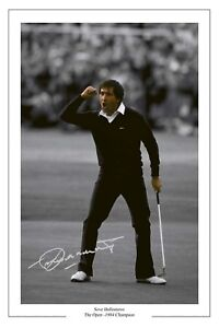 SEVE-BALLESTEROS-84-OPEN-AUTOGRAPH-SIGNED-PHOTO-PRINT