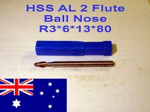 HSS-AL-Two-Flute-Ball-Nose-3mm-Radius-Straight-Shank