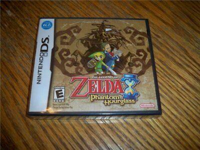 The Legend Of Zelda Phantom Hourglass Ntsc Nintendo Ds