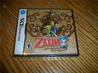 The Legend Of Zelda Phantom Hourglass Ntsc Nintendo Ds