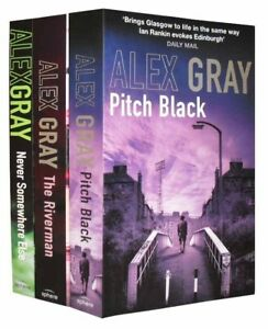 Alex-Gray-Collection-3-Books-Set-Pack-New-RRP-21-97