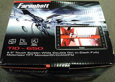 Farenheit Tid650 6.5 Touchscreen 2-din Dvd/am/fm