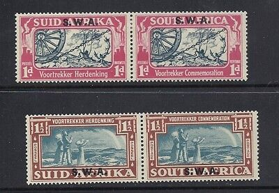 South West Africa 1938 Voortrekker Pairs F Vf Mh
