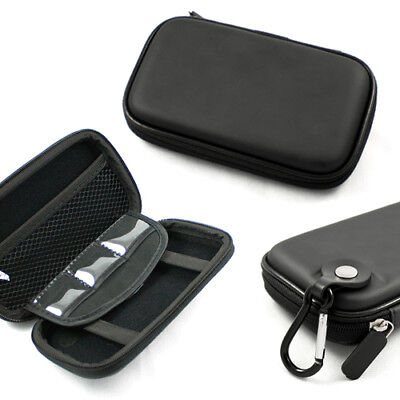 Black Carrying Hard Pouch Case Cover For Magellan Se4 Gps Navigator 4.3-inch