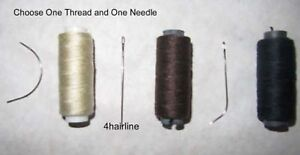 HAIR-EXTENSION-1-HAIR-WEAVING-THREAD-AND-ONE-NEEDLE