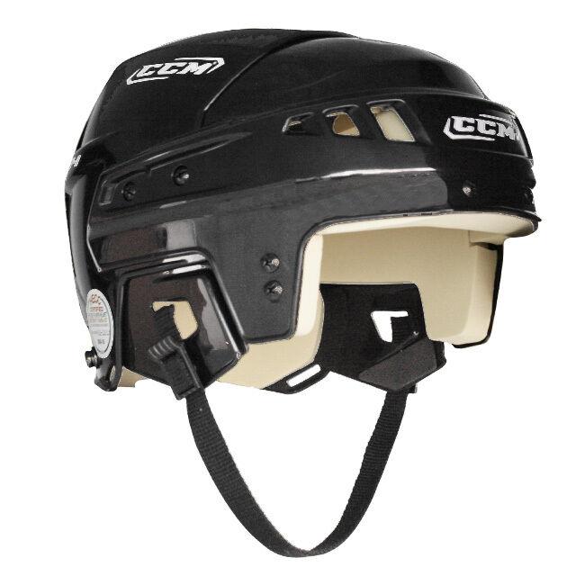 New CCM Vector V04 Senior Large Ice hockey Player Helmet Black 04 lrg