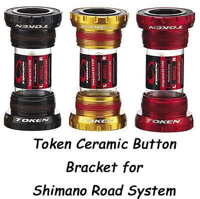 Token Ceramic Bottom Bracket Bb Road Bike Shimano