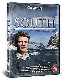 South Ernest Shackleton Frank Hurley's Documentary (New DVD) James Cracknell
