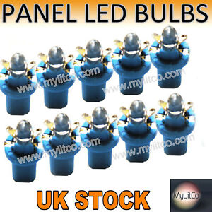 10x-SPEEDO-DIAL-DASH-LIGHT-LED-BULBS-R509T-1-2W-blue