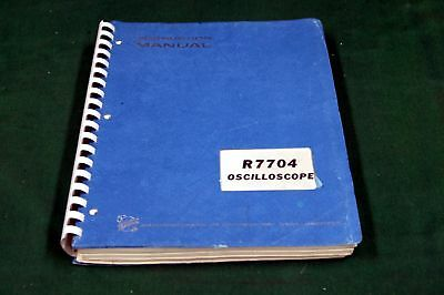 Tektronix R7704 Instruction  Manual