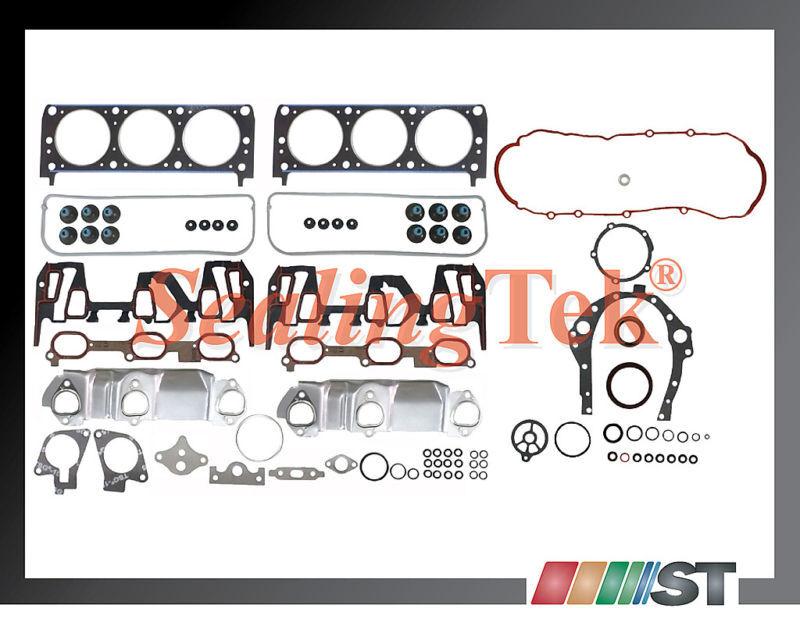 99 03 GM 3100 3 1L 189 V6 Vin J Engine Full Gasket Set Engine Cylinder Parts New