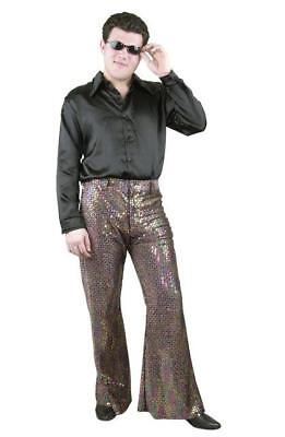 Sequin Disco Pants 70's Bell Bottom Mens Adult Costume | eBay