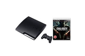 BRAND-NEW-SONY-PLAYSTATION-3-CALL-OF-DUTY-BLACK-OPS-BUNDLE-160-GB-CONSOLE