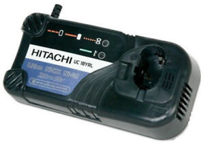 NEW HITACHI BATTERY CHARGER UC18YRL 120 VOLT 7.2-18VOLT NI-CD NI-MH LI-ION