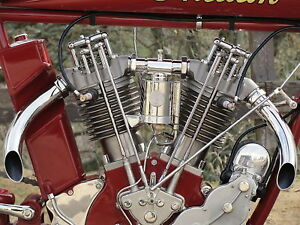 1912-1915-Indian-8-Valve-race-Complete-Top-End