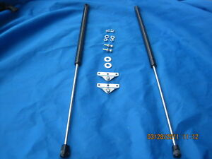 MG   MGB GT IMPROVED  GAS TELESCOPIC TAILGATE STAY KIT  1966 - 1980  * COUNTER
