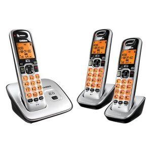 Uniden-D1660-3-1-9GHz-Expandable-Cordless-Phone-New