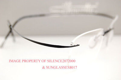 Silhouette Eyeglasses Frames Must 7799 6074 Black