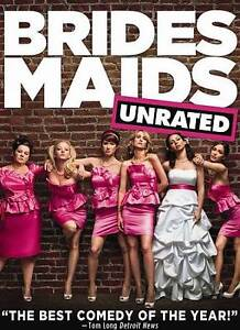 Bridesmaids-Unrated-Rated-DVD-2011-EXCLT-CONDITION-FREE-INSURANCE