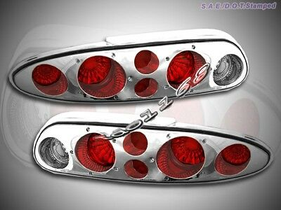 93-02 Chevy Camaro Tail Lights Chrome G2 01 00 99 98 97 96 95 94