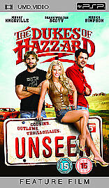 The Dukes of Hazzard: Unseen * Sony PSP *Johnny Knoxville * Excellent Condition